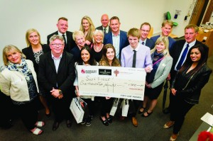 The winning team from the DMU Fox's Lair®!